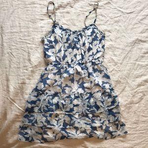 American Eagle blue & white summer dress